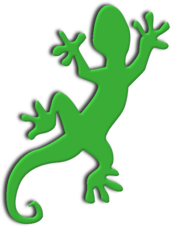 logo geko transparent